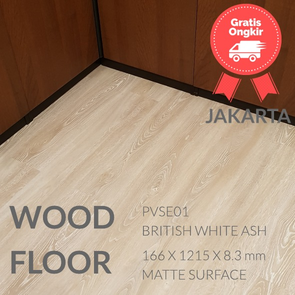 PVSE01 BRITISH WHITE OAK LANTAI KAYU
