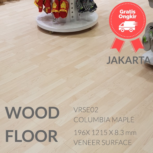 VRSE02 COLUMBIA MAPLE LANTAI KAYU